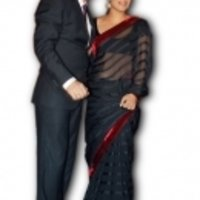 Kajol Black Saree