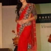 Katrina Kaif Red Saree