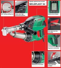 Weldplast S2 Digitally Regulated Hand Extruder