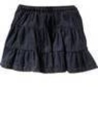 Denim Flaired Skirts