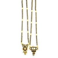 Stunning Gold Plated Mangalsutra