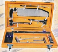 Post Mortem Set In Wooden Case