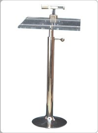 Acrylic Lectern Stand (With Lighting System)