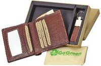 Mens Wallet And Keyfob Set