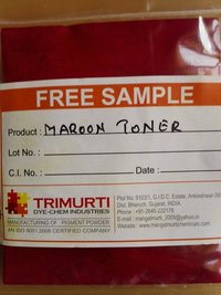 Maroon Toner Pigments