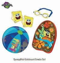Sponge Bob Kickboard Combo Set