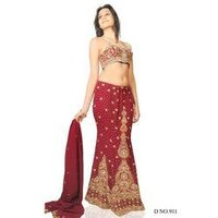 Embroidered Party Wear Lehangas