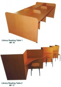 Library Reading Table