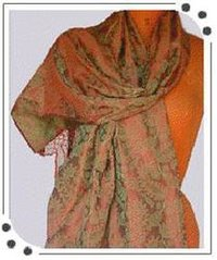 Banarsi Silk Scarves And Stoles