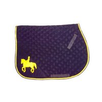 Corner Horse Emboridery Saddle Pad