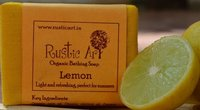Lemon Organic Bathing Soap