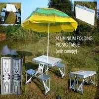 Folding Aluminium Picnic Table