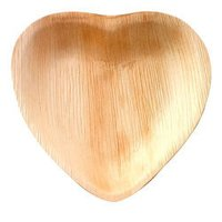 Heart Shaped Areca Plates