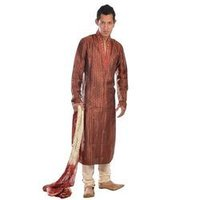 Churidar Kurta Pyjama With Desiner Neck
