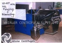 Reversing Out Filter Bag Centrifuge