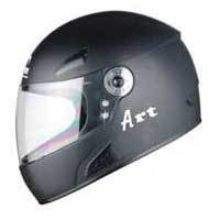 Art (Non Painted) Full Face Helmet