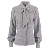 Full Sleeve Striped Ladies Blouse