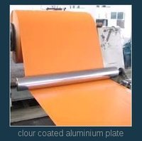 Colour Coated Aluminium Plate
