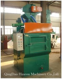 Q324 Tumble Belt Type Shot Blasting Cleaning Machine