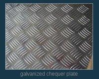 Galvanized Chequer Plate