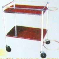 I.D.Trolley With Railings And Bowl