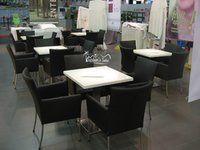 Cafetaria Chair And Table