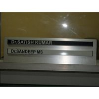 Cutting Name Plate