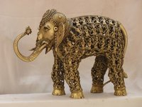9.9 Kg. Brass Elephant
