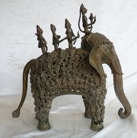 18.5 Kg. Brass Elephant Figure