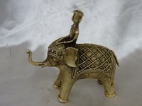 546 Gm. Brass Elephant Figure