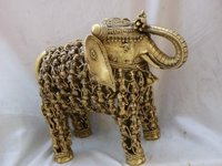 14 Kg. Brass Elephant Figure
