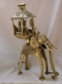 6.3 Kg. Brass Elephant Idol