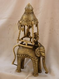 1.9 Kg. Brass Elephant Idol