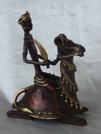 Brass Camel Statue