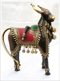 Five Legged Nandi Statue