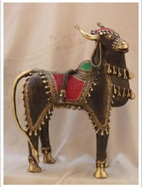 Decorative Five Legged Nandi Statue
