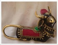 Decorative Brass Nandi Idol