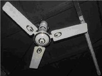 25 Watts Solar Ceiling Fan