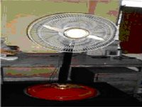 25 Watts Solar Pedestal Fan