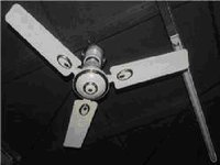38 Watts Solar Ceiling Fan