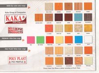 Kaka Colour Range Pvc Profiles
