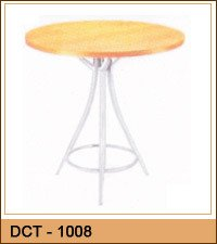 Stylish Round Cafeteria Table