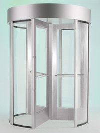 Revolving Glass Turnstile