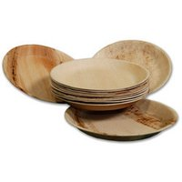 Areca Round Plates