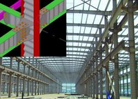 Steel Structure Building (Use Corrugated Steel Web)