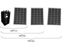 Integrated Solar Stored Power Generator with Optional AC Input