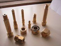 Brass Co2 Tank Pressure Gauge Components