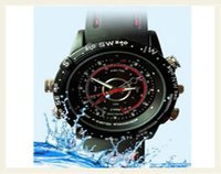Spy Waterproof Watch Camera Strap Watch
