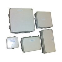 ABS IP 44/65 Cable Junction Boxes With Stepped Glands IP 54