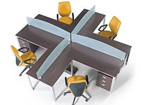 4 Seater Workstations